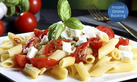 Two-Course Italian Dinner and Wine for Two ($49), Four ($89) or Six People ($129) at The Reserve Café (Up to $284 Value)