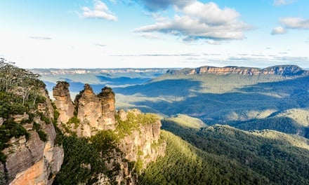 Blue Mountains: Two- or Three-Night Escape for Two People with Late Check-Out at Leisure Inn Spires