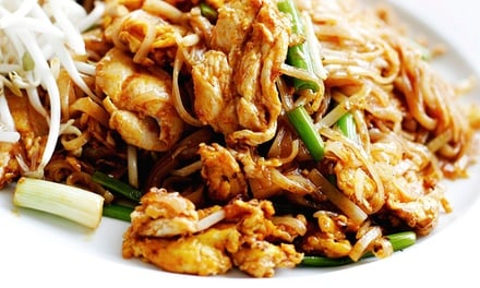 Pad Thai with Soft Drink: One ($9) or Two People ($17.50) at I Rich Thai (Up to $35 Value)