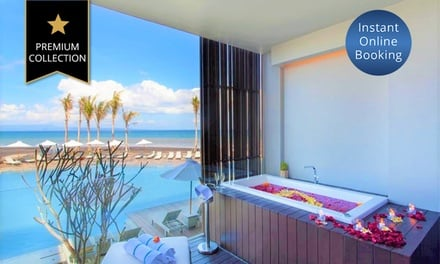 Bali: 1 or 2 Nights for Two with Breakfast and Welcome Drinks at 5* Wyndham Tamansari Jivva Resort Bali