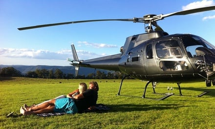 $1,999 for Private Charter Flight to Byron Bay for Up to Six People with ABC Heli (Up to $2,550 Value)