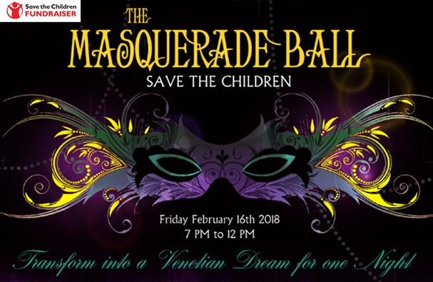 Save the Children Masquerade Ball