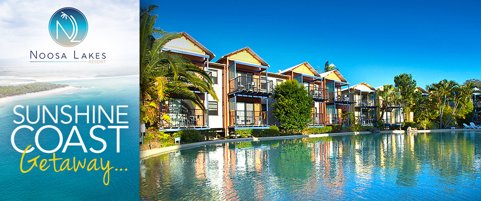 Sunshine Coast Getaway for Two People - Three Nights from $249, Five Nights from $399 or Seven Nights from $549 (Valued Up To $1,325)