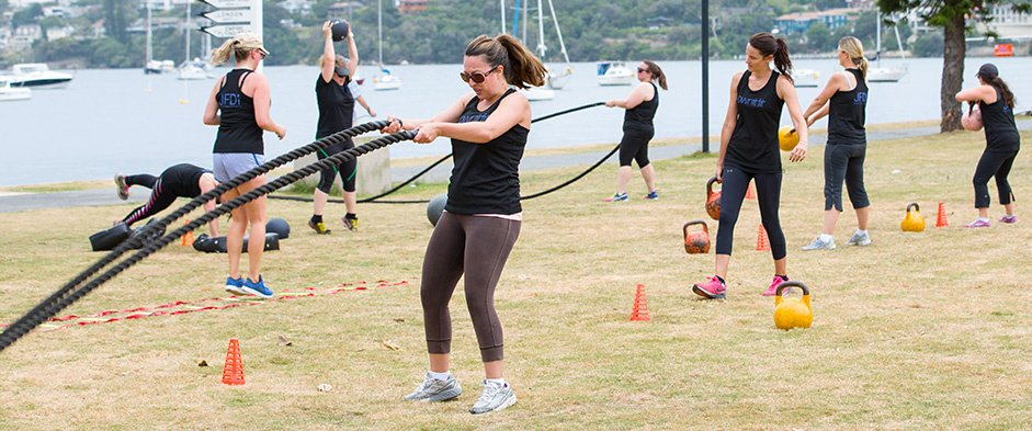 Four Weeks of Unlimited Bootcamp Sessions & Tailored Nutrition Plan is $19 for One Person, $29 for Two People, or $49 for Four. Available from Nine Locations (Valued Up To $1,188)