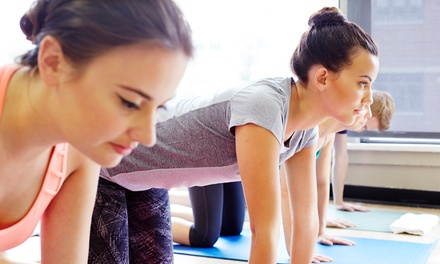 10 Yoga Fusion Classes for One ($89) or Two People ($169) at Yoga Ruka (Up to $400 Value)
