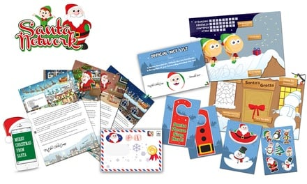 Personalised Santa Claus Letter ($3.90) with Optional Activity Pack ($4.90) from Santa Letter Direct - Up to 67% Off