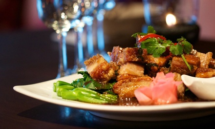 $29 for $50 or $55 for $100 to Spend on Food and Drinks at Blue Buddha Thai