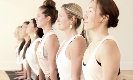 One Month of Unlimited Yoga for One ($29) or Two People ($49) at Kai Yoga (Up to $110 Value)