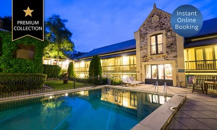 Adelaide Hills: 1 or 2 Nights for 2 people with Breakfast voucher, Late Check-Out & Spa Credit