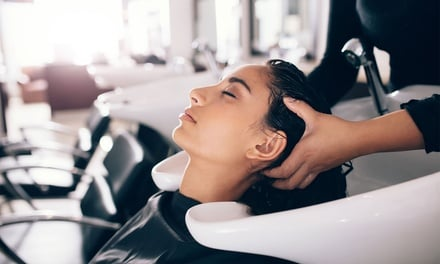 Moisture Treatment, Shampoo and Style Blow-Dry: 1 ($29) or 2 Visits ($55) at Peta Charles Hair Studio (Up to $180 Value)
