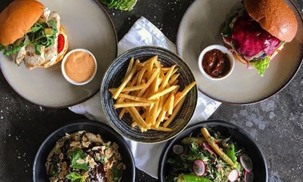 Lunch + Glass of Wine or Beer: 1 ($19), 2 ($37), 3 ($55) or 4 People ($73) at Contact Bar and Kitchen (Up to $168 Value)