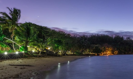 Fiji: All Incl. 5N for Two with Meals, Activities, Cocktail, Transfers, Wine, Massages & Trip at Funky Fish Beach Resort
