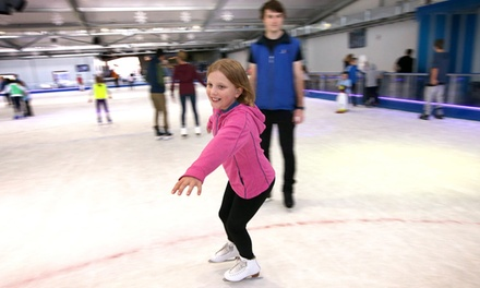90-Min Ice Skating Session: Toddler ($8), Child ($12), Adult ($14) or Family Ticket ($39) at Ice Zoo (Up to $81 Value)