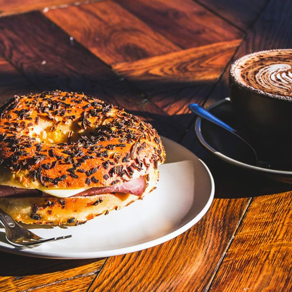 Delicious All-Day Breakfast or Lunch with a Drink Each in Waterloo