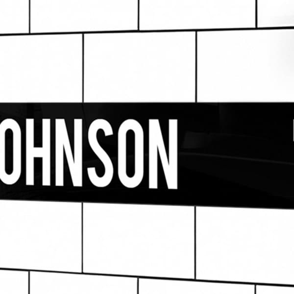 Personalised Standard and Premium Street Signs