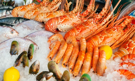 $74.90 for Saturday All-You-Can-Eat Seafood Buffet with Lobster at Baygarden Restaurant (Up to $99 Value)