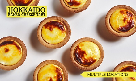 Box of Six Original ($16) or Assorted ($18) Cheese Tarts at Hokkaido Baked Cheese Tart, 6 Locations (Up to $22.90 Value)