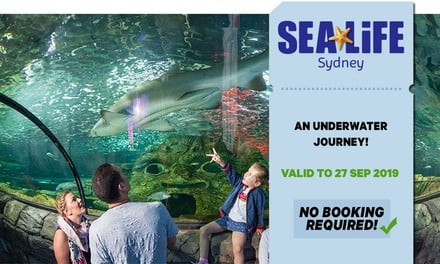 SEA LIFE Sydney: Child Aged 3-15 ($26.40) or Adult ($36.80) Entry, Darling Harbour (Up to $46 Value*)