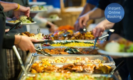 All-You-Can-Eat Buffet Lunch for Two ($25) Four ($50) or Six People ($75) at Panorama House (Up to $120 Value)