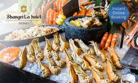 Seafood Buffet for Two ($119) or Four People ($238) at Café Mix Shangri La Hotel (Up to $340 Value)