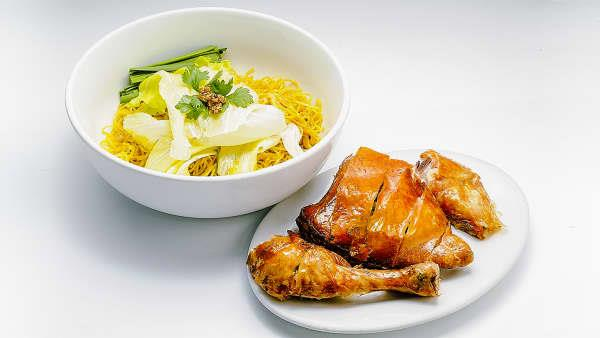 Signature Crispy Skin Chicken or Pho with a Drink in the CBD