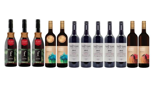 Red and White Hunter Valley Wine Mixed Cases, Delivered