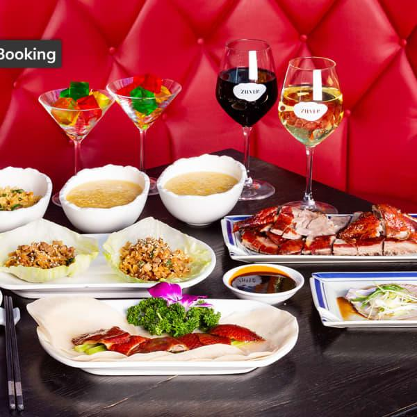 Multi-Dish Peking Duck Banquet with Wine in Bondi Junction