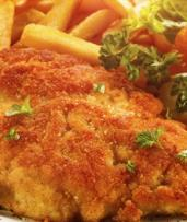Chicken Schnitzel or Beef Burger with Fries & Drink for 1 ($10) or 2 ($20) at River Canyon Restaurant (Up to $37 Value)