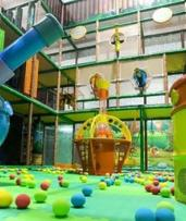 Play Area Entry + Coffee: Adult and Child (from $9.50) with Optional Kid's Meal ($13.50) at Play Cave (from $19 Value)