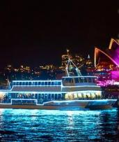 90-Minute Vivid Cruise + 3 Drinks: Monday-Thursday ($22) or Friday-Sunday ($28) with Good Time Cruises (Up to $69 Value)
