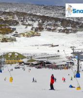 Snowy Mountains, Jindabyne: $99PP for an Express Perisher Ski Tour with National Park Entry with Snowman Tour Perisher