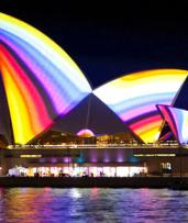 90-Minute Vivid Light Show Harbour Cruise with Three Drinks per Person. Just $18 for a Child Ticket or from $22 for an Adult Ticket (Valued Up To $69)