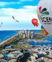 Hot Air Ballooning for 1 ($198) or 2 People with Optional Breakfast ($448) at Scenic Day Tour Group (Up to $648 Value)