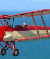 From $125 for Aerial Flights in an Antique Open Cockpit Plane with Antique Airways, Redcliffe (up to $591.70 Value)