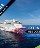Singapore: 3 Night Fly Cruise Package on Genting Dream from $889 per Person Including a Night at the 4* Studio M Hotel