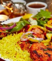 Three-Course Indian Dinner with Wine for Two ($49) or Four People ($95) at Zinger Taj, McMahons Point (Up to $188 Value)