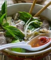 $7.50 for a Beef Pho or Pork Vietnamese Salad with a Bottle of Water (Total Value Up to $12)