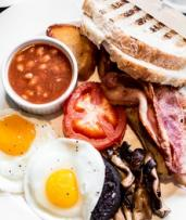 All-Day Breakfast and Coffee for Two ($25) or Four People ($49) at Olive Tree Kafe (Up to $78 Value)