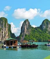 Vietnam: $999 Per Person for a 15-Day Tour with Meals, Cruise, Transfers and Domestic Flights with Halong Tours Booking