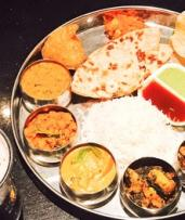 All You Can Eat Weekend Thali Lunch + Wine for 2 ($49) or 4 People ($95) at 2 Fat Indians - Highgate (Up to $162 Value)