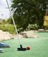 Two Rounds of Mini Golf for One ($5), Two ($10) or Four People ($20) at Caboolture Bowl & Mini Golf (Up to $40 Value)