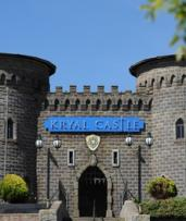 Ballarat: Adventure Park and Resort Stay for Up to Four People with Bottle of Wine and Late Check-Out at Kryal Castle