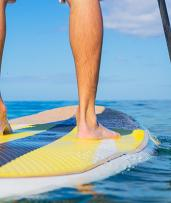 Stand-Up Paddle Boarding Group Lesson and Hire Starts from $19 for One Person, Or Enjoy Two Hours of Double Kayak Hire for $29 (Valued Up To $220)