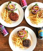 Babu Burger with Fries and Drink ($9.90) or Fully-Loaded Burger ($9.90) at BABU Burgers Windsor (Up to $18.50 Value)