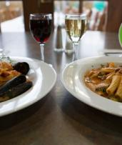 Two-Course Italian Dinner with Wine for 2 ($59), 4 ($115) or 6 People ($169) at Siena's Leederville (Up to $240 Value)