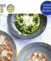 Chef-Hatted OTTO Ristorante Sydney: Wharfside Two-Course Italian Lunch or Dinner with Cocktails for Two ($119)