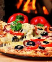 Pizza or Pasta ($26) or Italian Feast + Glass ($39) or Bottle of Wine ($49) for Two People at Manly Pizza & Wine