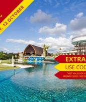 Nusa Dua, Bali: 3 or 5 Nights for Two with Meals, Massage, Early Check-In and Late Check-Out at Inaya Putri Bali