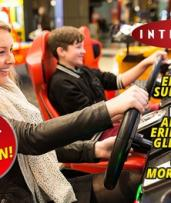 $15 for Two-Hour Video Game Session Plus 15 Tokens Toward Ticket Games at Intencity, Six Locations (Up to $30 Value)