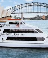 Christmas Party Lunch or Dinner Cruise for a Child ($59) or an Adult ($69) with Vagabond Cruises